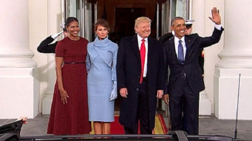 The Obamas & The Trumps