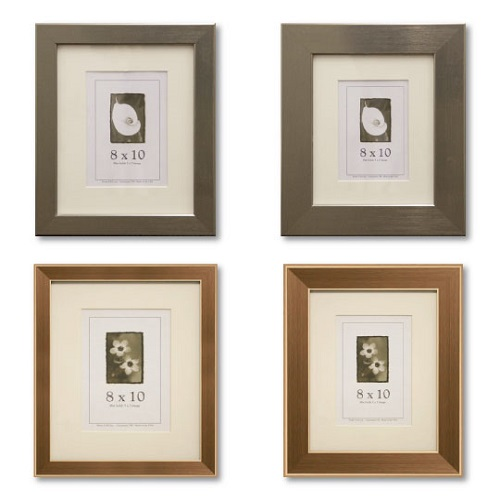 Stainless Gold Picture Frames