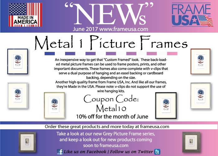 Frame USA June News -