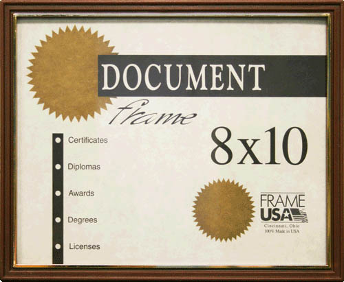 Economy Certificate Frame