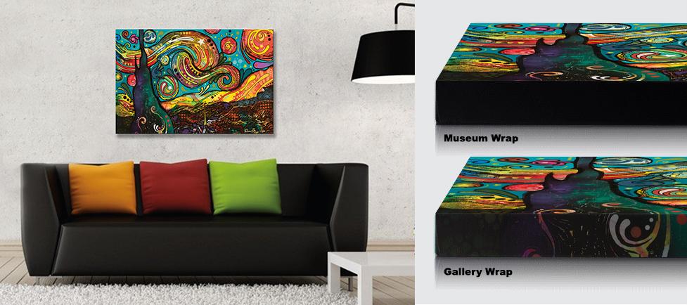 Canvas Floater Frames