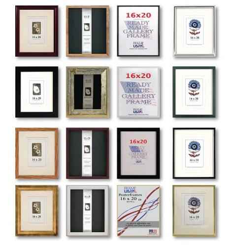 16x20 Large Frames