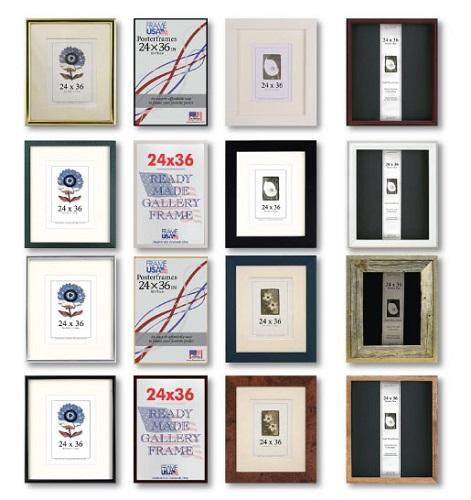 24x36 Large Frames