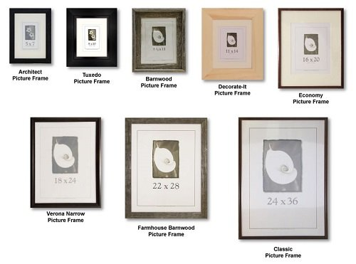 Wood Wall Frames