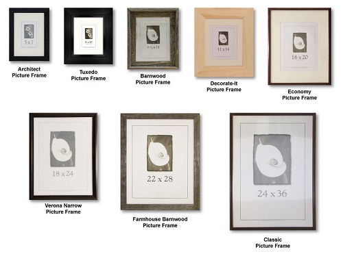 Wood Framed Pictures