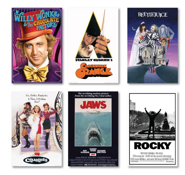 Classic Movie Poster Frames