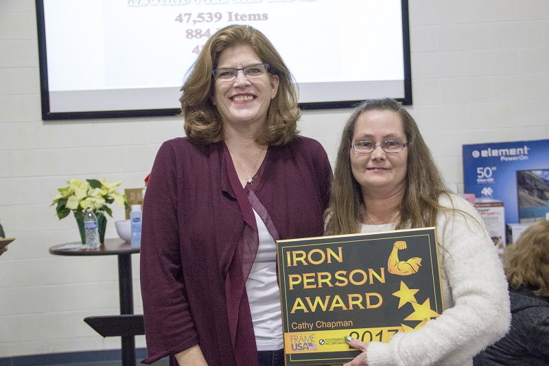 Iron Person Award