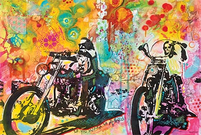 Easy Rider By Dean Russo
