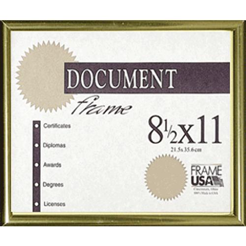 Metal Diploma Frame