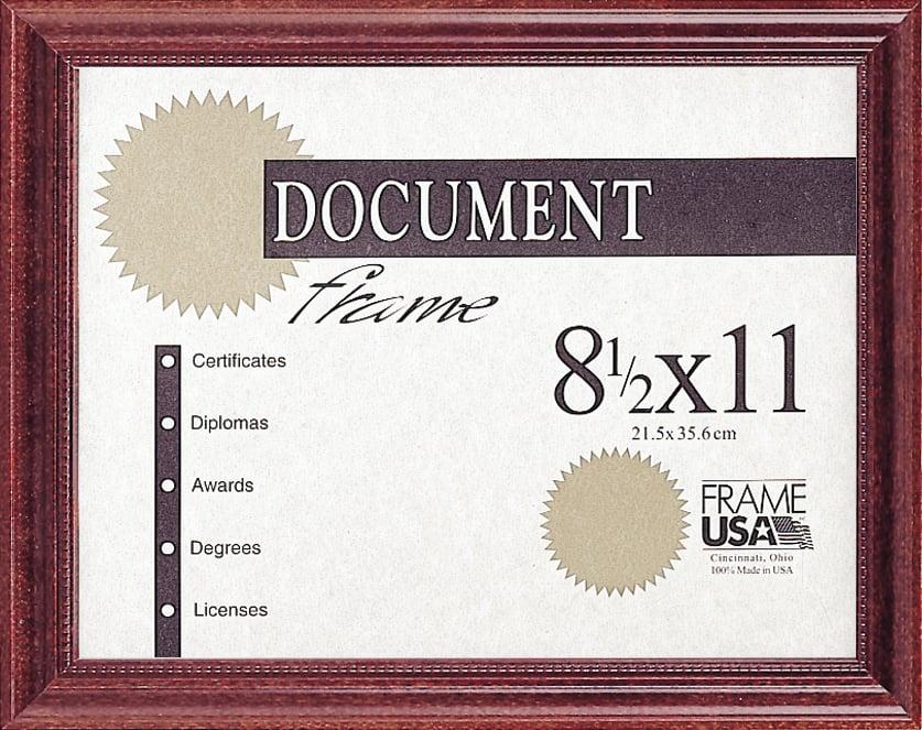 Wood Diploma Frames
