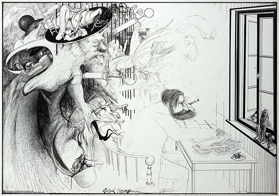 Ralph Steadman Secret of Dreams