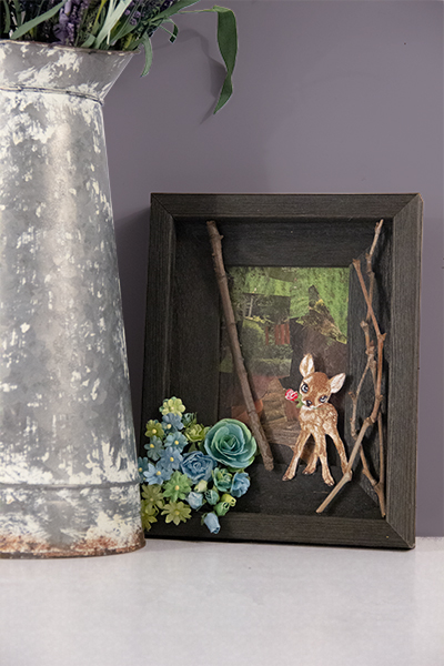 Appalachian Barnwood DIY Nature Scene