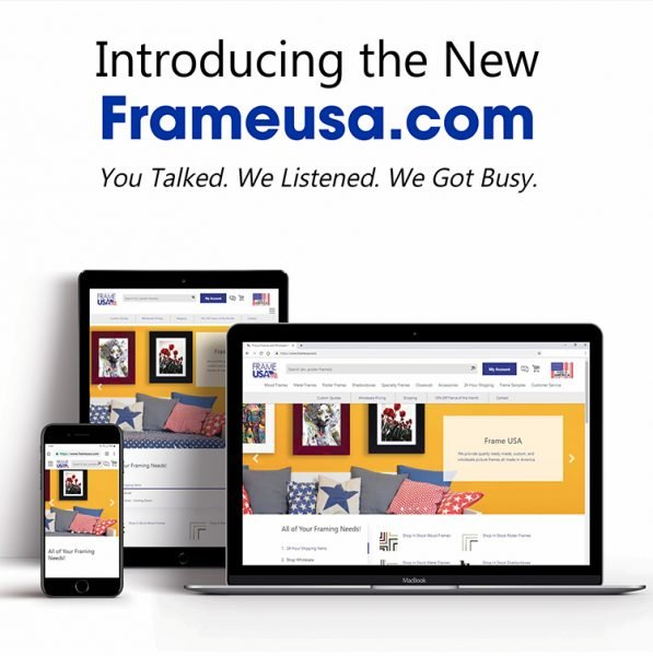 Frameusa.com Website Launch – Brand New Features!