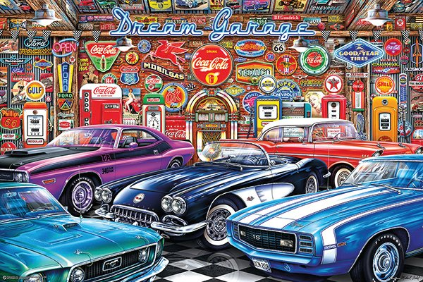 Fantasy and Vintage Car Art Prints by Michael Fishel, For Sale