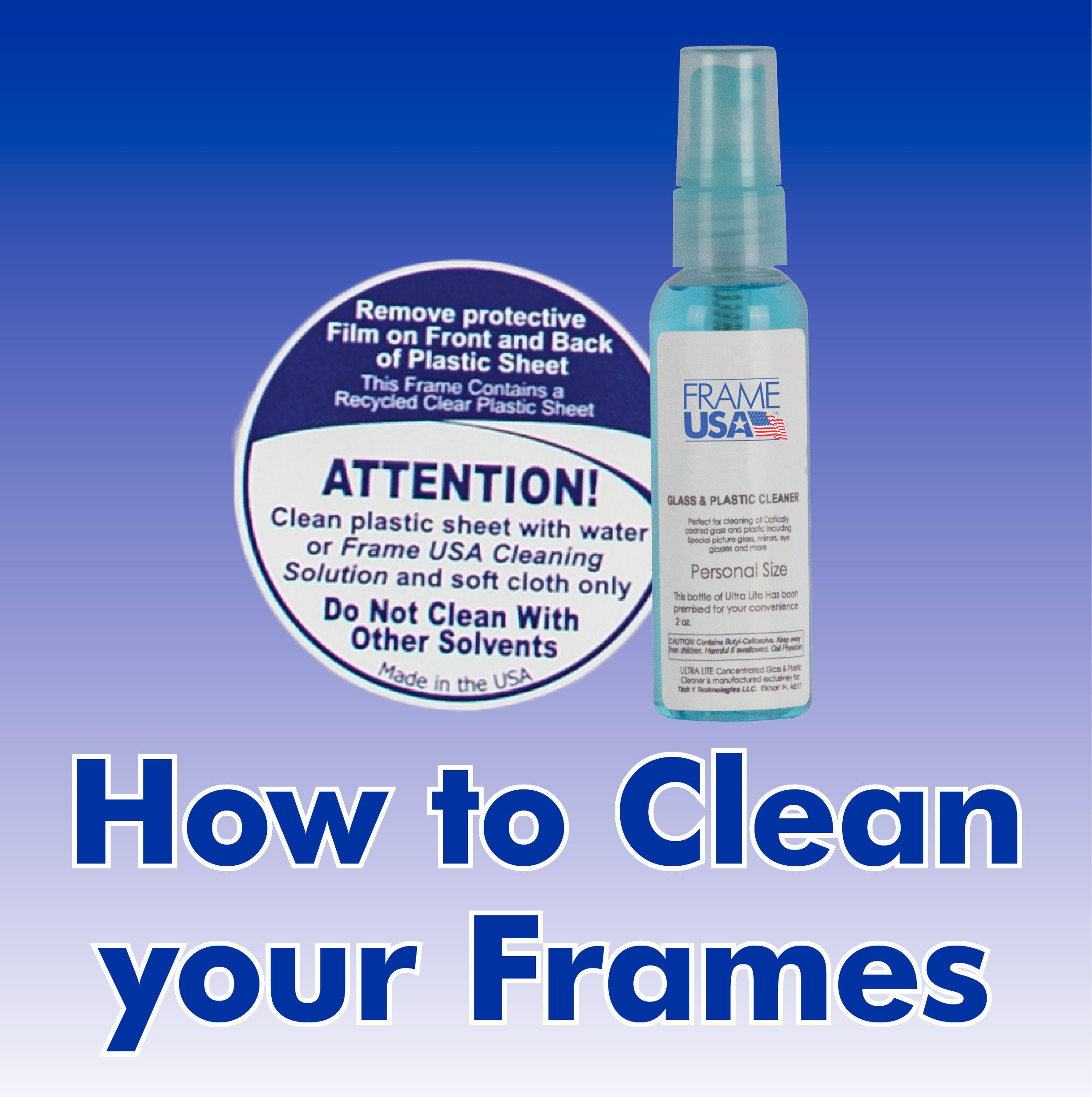 How To Clean Picture Frames