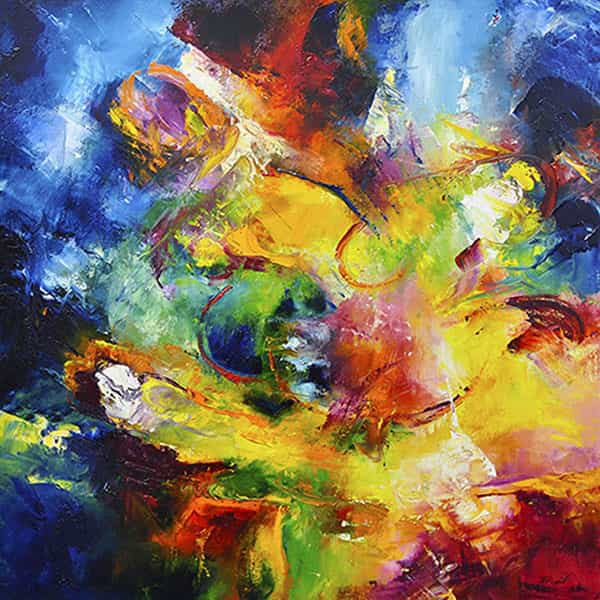 Abstract Paintings by Aleta Pippin for Sale