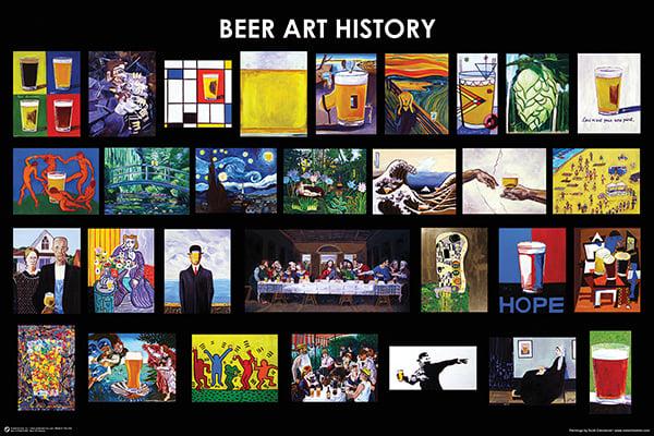 Beer Art History