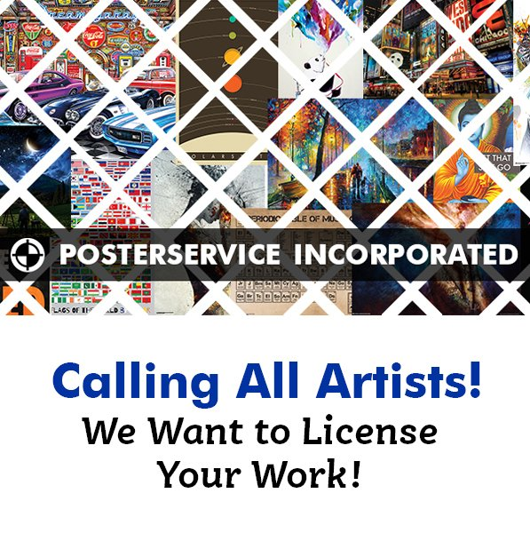 Calling All Artists – We Want To License Your Work!