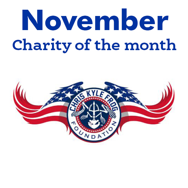 Chris Kyle Frog Foundation – November Charity of the Month