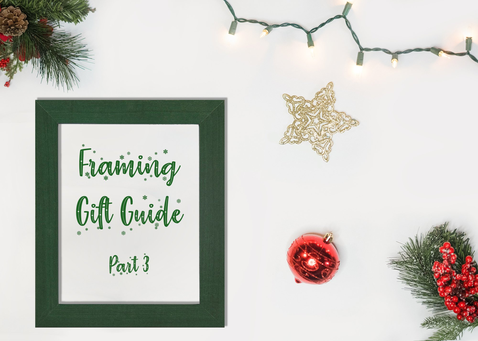 Frame USA's Gift Guide, Part 3