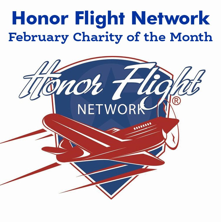 The Honor Flight Network — February Charity of The Month