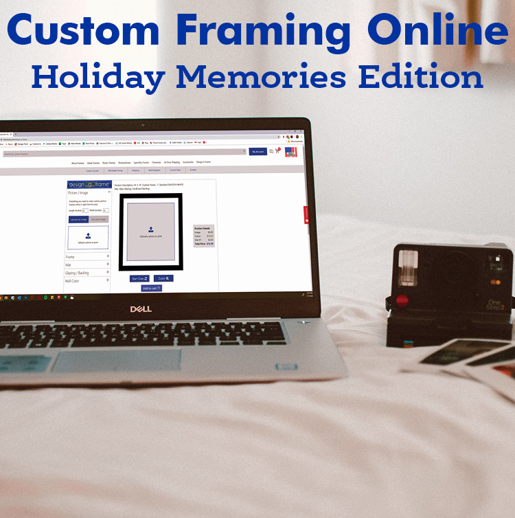 Custom Framing Online — Holiday Memories Edition