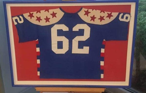 Custom jersey frame