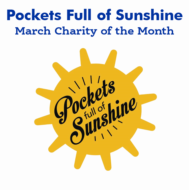 March 2020 Charity of The month — Pockets Full of Sunshine