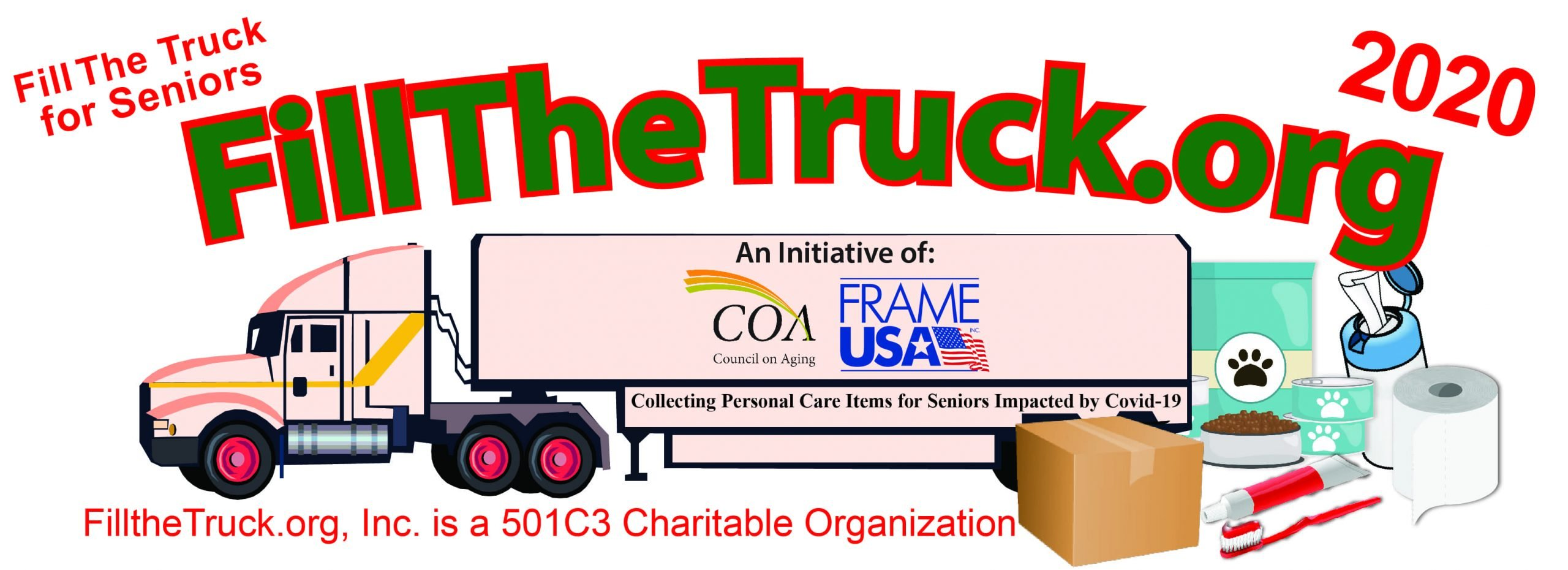 April 2020 Charity of The Month — Fill The Truck for Seniors